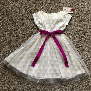 NWT Mia Joy by Joyfolie Nellie in Triangles dress